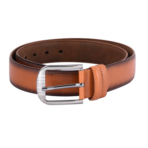 Tan Color Ragzin Men's Belt - DVS_BT04