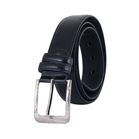 Black Color Ragzin Men's Belt - DVS_BT06