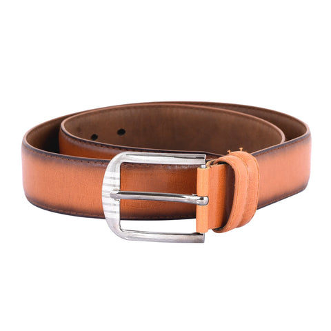Tan Color Ragzin Men's Belt - DVS_BT08