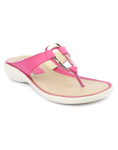 DIGNI Pink Color Synthetic Women Flats - DWF-B-8-PINK