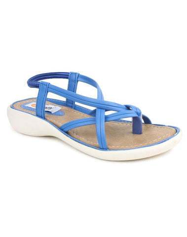 DIGNI Blue Color Synthetic Women Flats - DWF-Z-3-BLUE