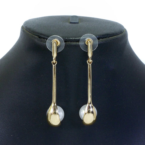 Gold Color Alloy Earrings - ER0009