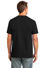 Eerie Balck Color Cotton Men's T-Shirt  - ERBLK-160-CT-DSN