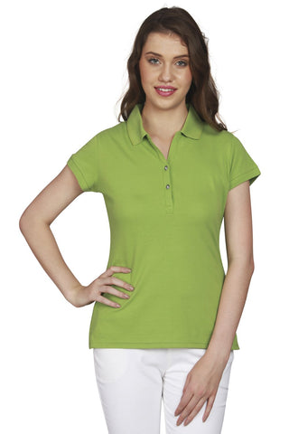 URSENSE-Green Color Hosery Top-ETE-7130-Grn