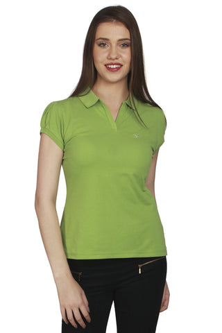 URSENSE-Green Color Hosery Top-ETE-7143-Grn
