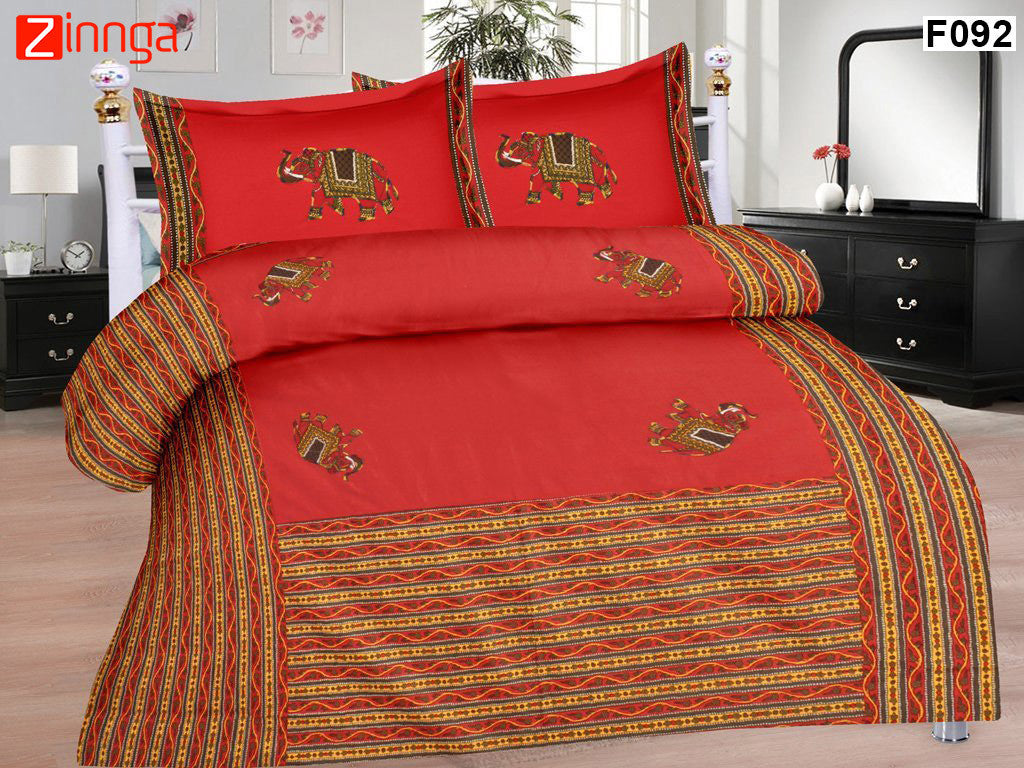 Beautiful Cotton BedSheets