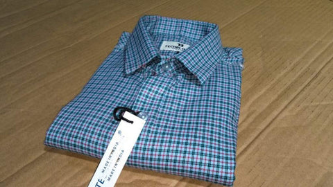 Multi Color Cotton Men's Checkered Shirt - FF0077