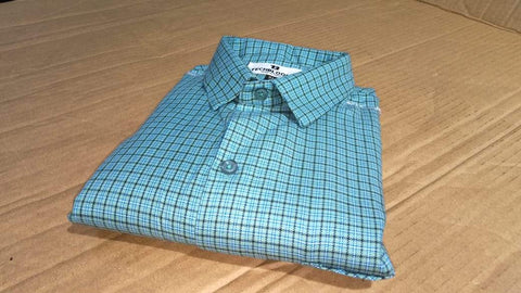 Multi Color Cotton Men's Checkered Shirt - FF0078