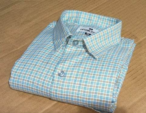 Multi Color Cotton Men's Checkered Shirt - FF0079