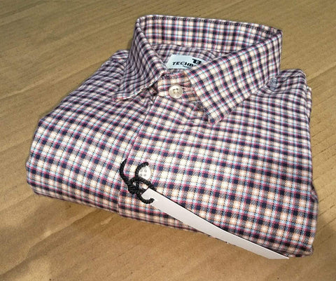 Multi Color Cotton Men's Checkered Shirt - FF0080