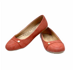Buy Peach Color Synthetic Bellies