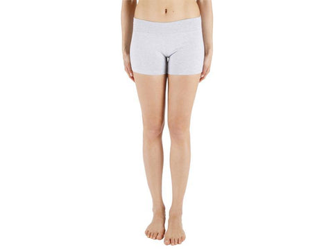 Grey Color Supplex Lycra Women Short  - GREY1-SH