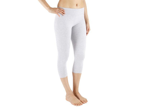 Grey Color Supplex Lycra Capri - GREY4-CP