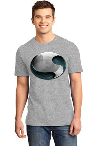 Grey Color Cotton Men's T-Shirt  - GRY-160-CT-FNG-SHI