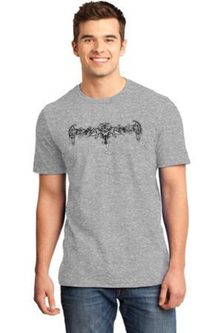 Grey Color Cotton Men's T-Shirt  - GRY-160-CT-GIADORD