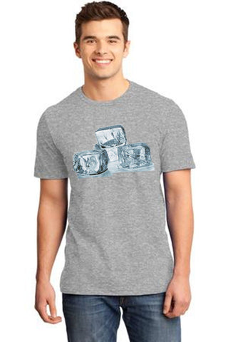 Grey Color Cotton Men's T-Shirt  - GRY-160-CT-IC-CB