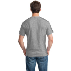 Grey Color Cotton Men's T-Shirt  - GRY-160-CT-LNS