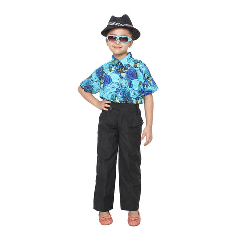 Multi Color Cotton Blend Fancy Costume Dress  - Goa Boy-1