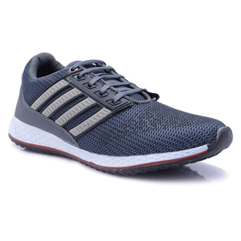 Grey Color Mesh Men Sports Shoe - GreySports