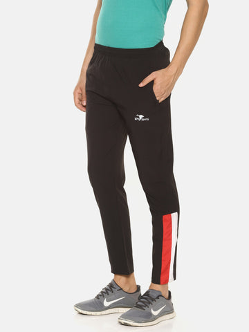 Black Color Cotton NS Men's Track Pant - HPSBL62