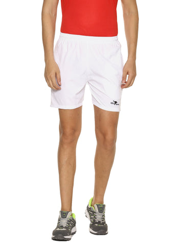 White Color Cotton Lycra Men's Short - HPSWS14