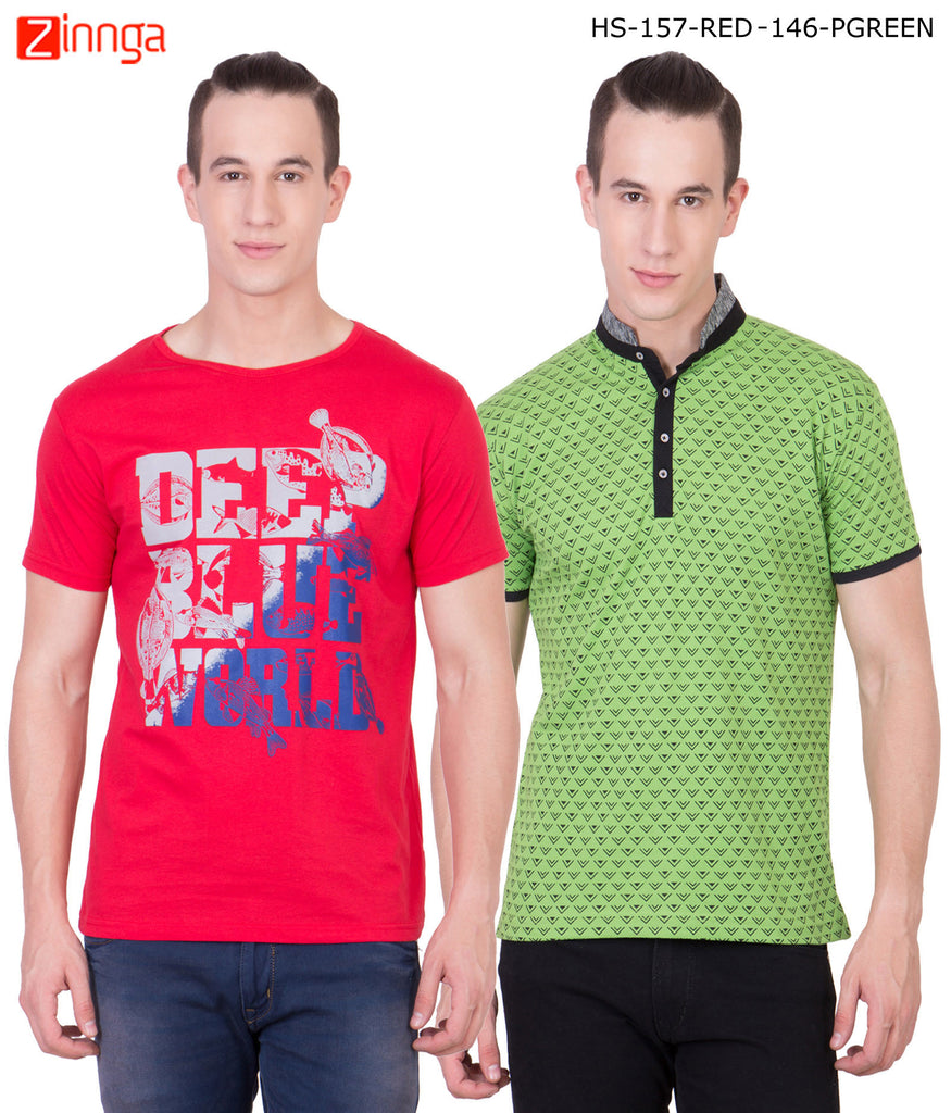Mens Cotton Combo T-Shirts