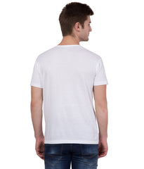 AMERICAN ELM- White Color Cotton T-Shirt - HSPT-A11PNK