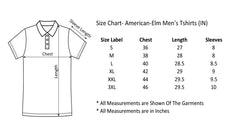 AMERICAN ELM-  Black Color Printed T-Shirt - HSPT-C10SKBL