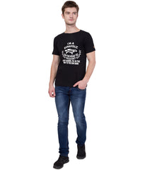AMERICAN ELM- Black Color Cotton T-Shirt - HSPT-C11WHT