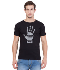 Black Color Cotton T-Shirt