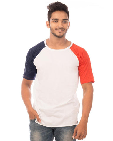 NavyBlue Color Cotton Mens T-Shirt - HTTS1034
