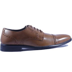 Buy Tan Color Leather Men Shoe