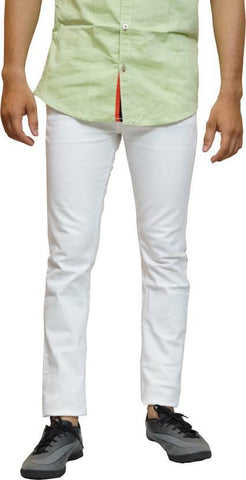 Halogen Skinny Men's White Denim Jeans - Hal21