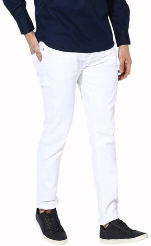 Halogen Skinny Men's White Denim Jeans - Hal23