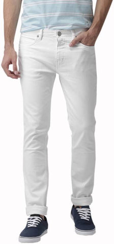 Halogen Skinny Men's White Denim Jeans - Hal24