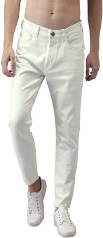 Halogen Skinny Men's White Denim Jeans - Hal35