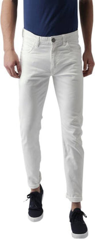 Halogen Skinny Men's White Denim Jeans - Hal36