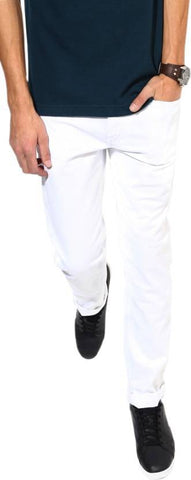 Halogen Skinny Men's White Denim Jeans - Hal37