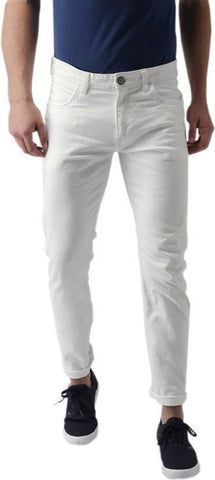 Halogen Slim Men's White Denim Jeans - Hal39