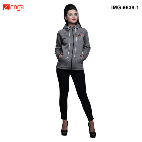 ELIOOP-Attractive Women's WinterWear Jacket- IMG-9838-1