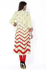 MIUS FASHION-Women's Beautiful Cotton Stitched Kurti - MBK006