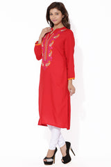 MIUS FASHION-Women's Beautiful ReadyMade Cotton Kurti - MBK007