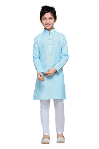 Firoji  Color Cotton Kurta Pyjama - IP109