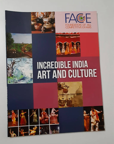 UPSC Book-Incredibile India Art and Culture