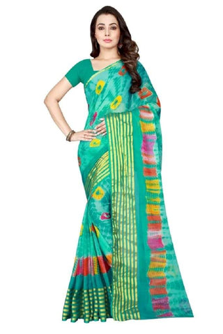 Multi Color Chiffon Saree - JGulmohar-2