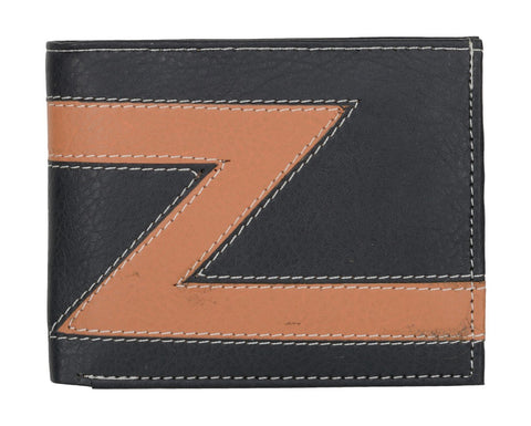 Dark Blue Color PU Mens Wallet - JL0420J