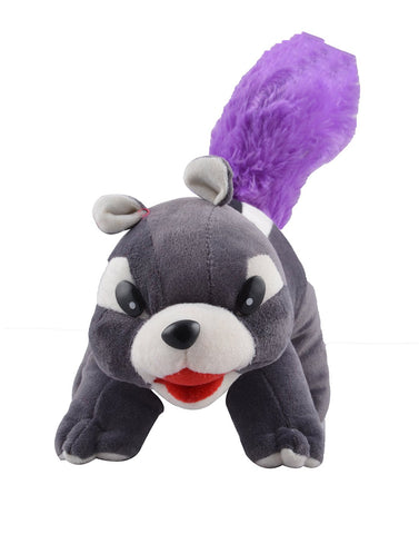 Blue Color Squirrel Doll Stuffed Figure Soft Toy  for Baby - JMA-523