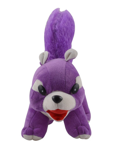 Purple Color Squirrel Doll Stuffed Figure Soft Toy   for Baby- JMA-524