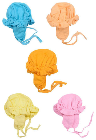 Multi Color Cotton Unisex Hats for Baby - JMA110