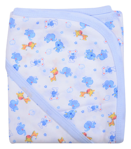 Multi Color Cotton Soft Baby Towel  - JMA116